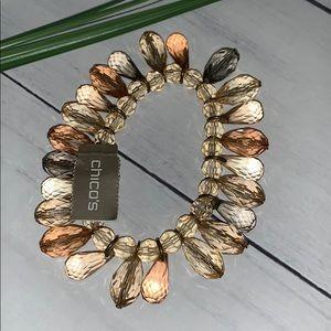 Chico's beaded bracelet NWT